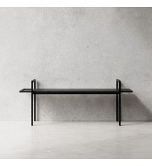 Nichba-Design - Bænk - Sort