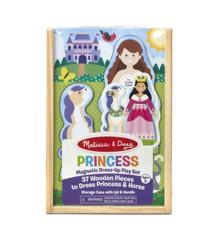 Melissa & Doug - Magnetiske Påklædningsdukke - Prinsesse