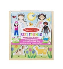 Melissa & Doug - Best Friends Magnetic Dress-Up Play Set (19314)