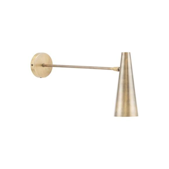 House Doctor - Precise Væglamp Medium - Messing
