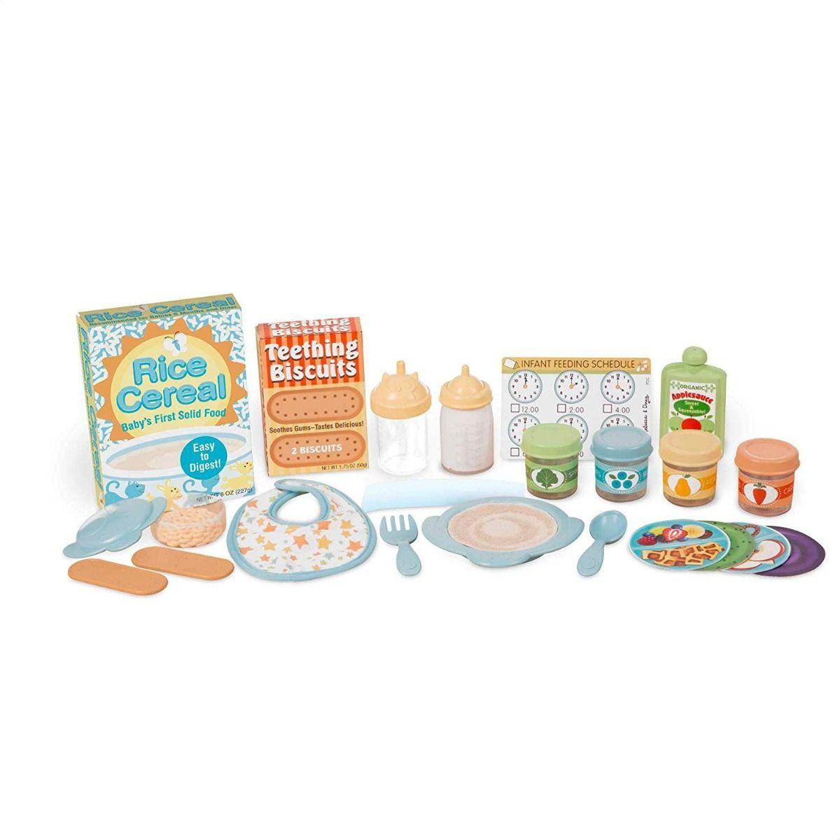 Melissa & Doug - Mine to Love - Mealtime Play Set (41708)