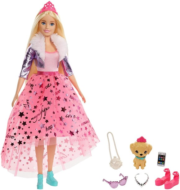 Barbie - Princess Adventure - Deluxe Prinsesse (GML76)