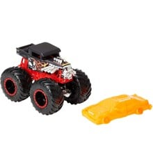 Hot Wheels - Monster Trucks 1:64 - Bone Shaker Køretøj (GNJ57)