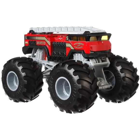 Hot Wheels - Monster Trucks 1:24 - 5 Alarm 2 Vehicle (GBV34)
