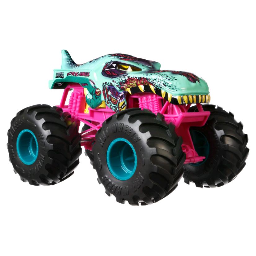Buy Hot Wheels Monster Trucks 1 24 Zombie Wrex Vehicle Gcx24