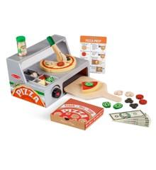 Melissa & Doug - Top & Bake Pizza Counter Play Set (19465)
