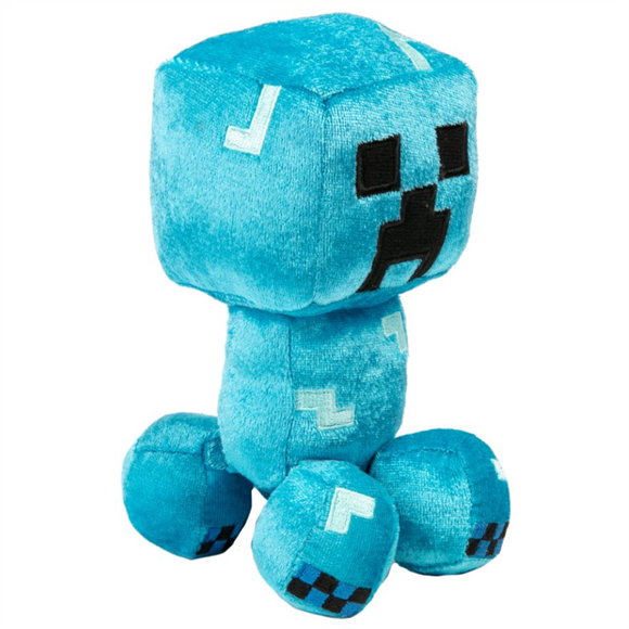 Minecraft - Plys Bamse 18 cm - Charged Creeper