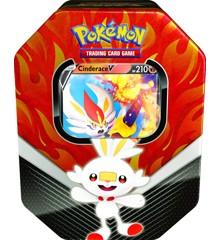 Pokémon - Galar Partners Tin - Cinderace V (POK80678A) (Pokemon Kort)