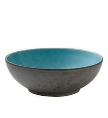 Bitz - Salatskål Ø 30 cm - Grå/Lysblå