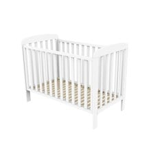 Baby Dan - Sofie Cot Bed w. Drop Side 60x120 cm - White