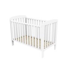 Baby Dan - Sofie Tremmeseng 60x120 cm - Hvid