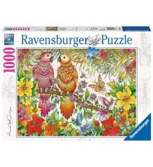 Ravensburger - Puslespil 1000 brikker - Tropical Mood