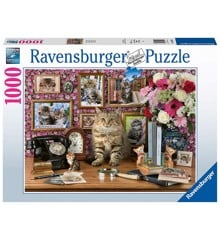 Ravensburger - Puslespil 1000 brikker - My cute kitty