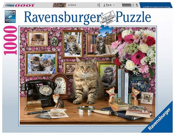Ravensburger - Puslespil 1000 brikker - My cute kitty