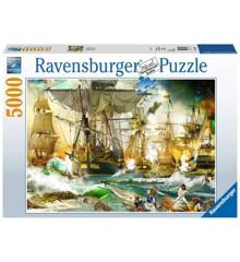 Ravensburger - Puslespil 5000 - Slaget i høj sø (10219611)