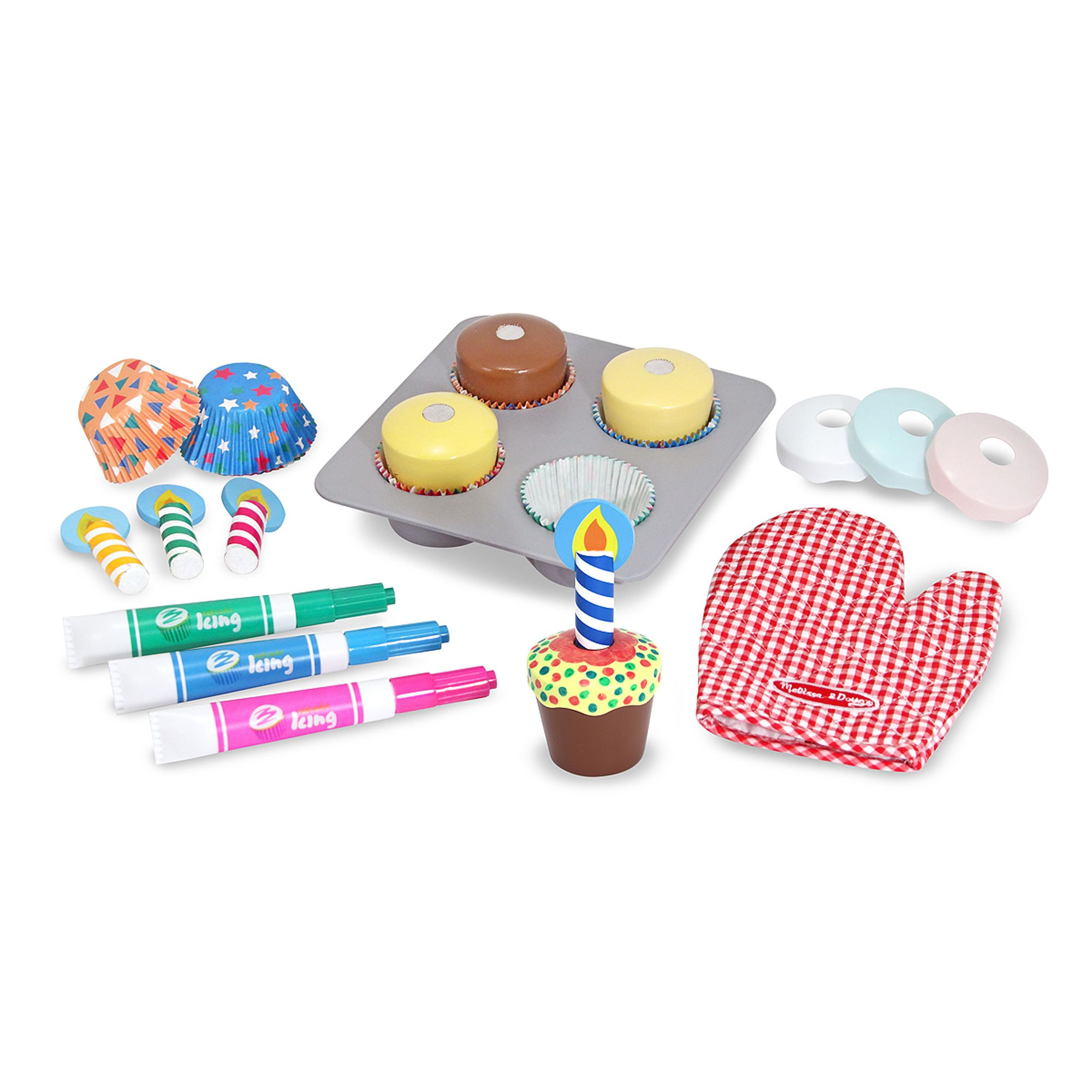 Melissa & Doug - Bake & Decorate Cupcake Set (14019)