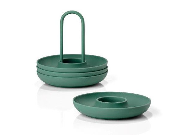 Zone - Singles Egg Cups With Holder - Emerald (332024)