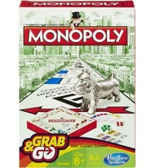 Hasbro Gaming - Monopoly Grab and Go (B1002)