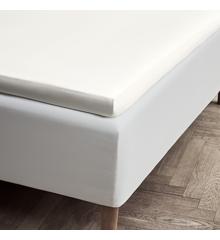 Juna - Percale Envelope Sheet 90 x 200 x 4/8 cm - Off White (618267)