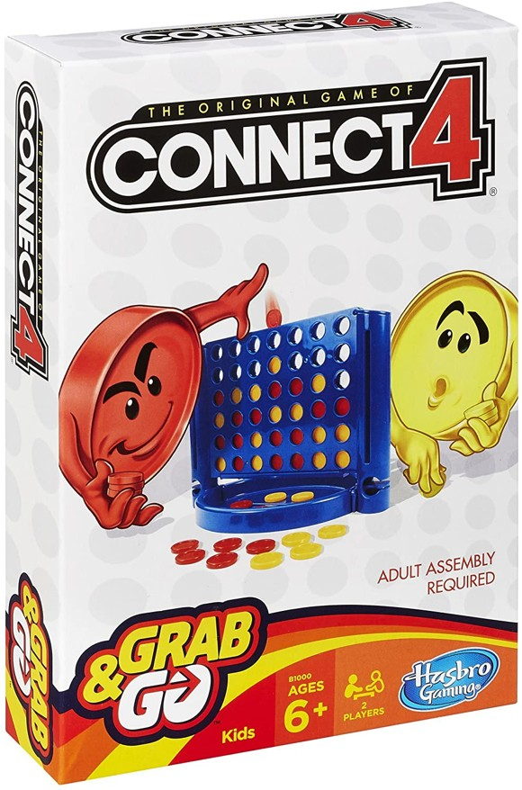 Hasbro Gaming - Connect 4 Grab and Go - Rejsepil