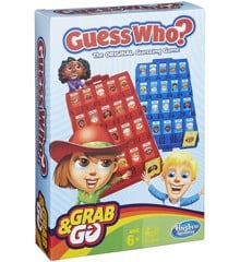Hasbro Gaming - Guess Who Rejsespil (B1204)