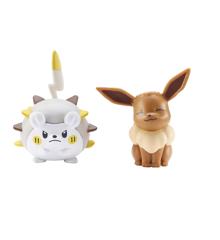 Pokemon - Battle Figure - Togademaru & Eevee (5cm) (95032)