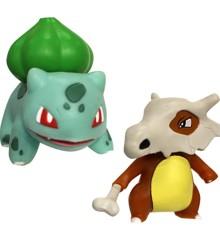 Pokemon - Battle Figur - Bulbasaur & Cubone (5cm) (95032)