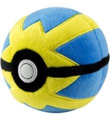 Pokemon - Pokeball Plush - Quick Ball (10 cm) (96329)