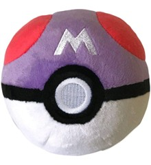 Pokemon - Pokeball Plush - Master Ball (10 cm) (96328)