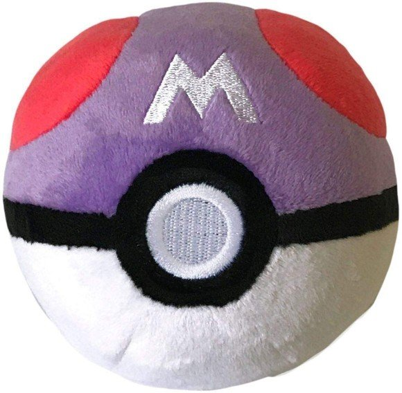 Pokemon - Pokeball Plush - Master Ball (10 cm) (96328)
