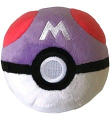 Pokemon - Pokeball Plys - Master Ball (10 cm) (96328)