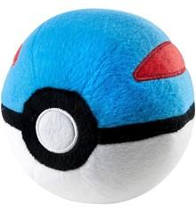 Pokemon - Pokeball Plush - Great Ball (10 cm) (96331)