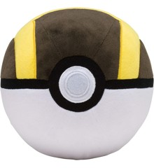 Pokemon - Pokeball Plys - Ultra Ball (10 cm) (96327)