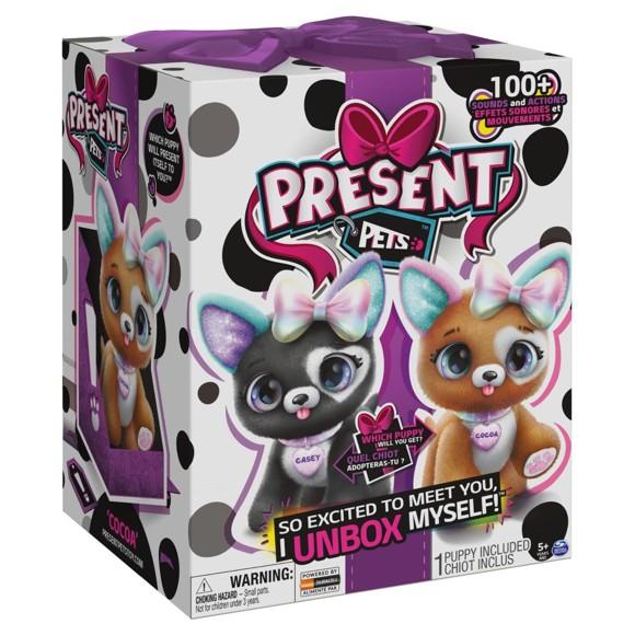 Present Pets – Rainbow Glitter Puppy (6059159)