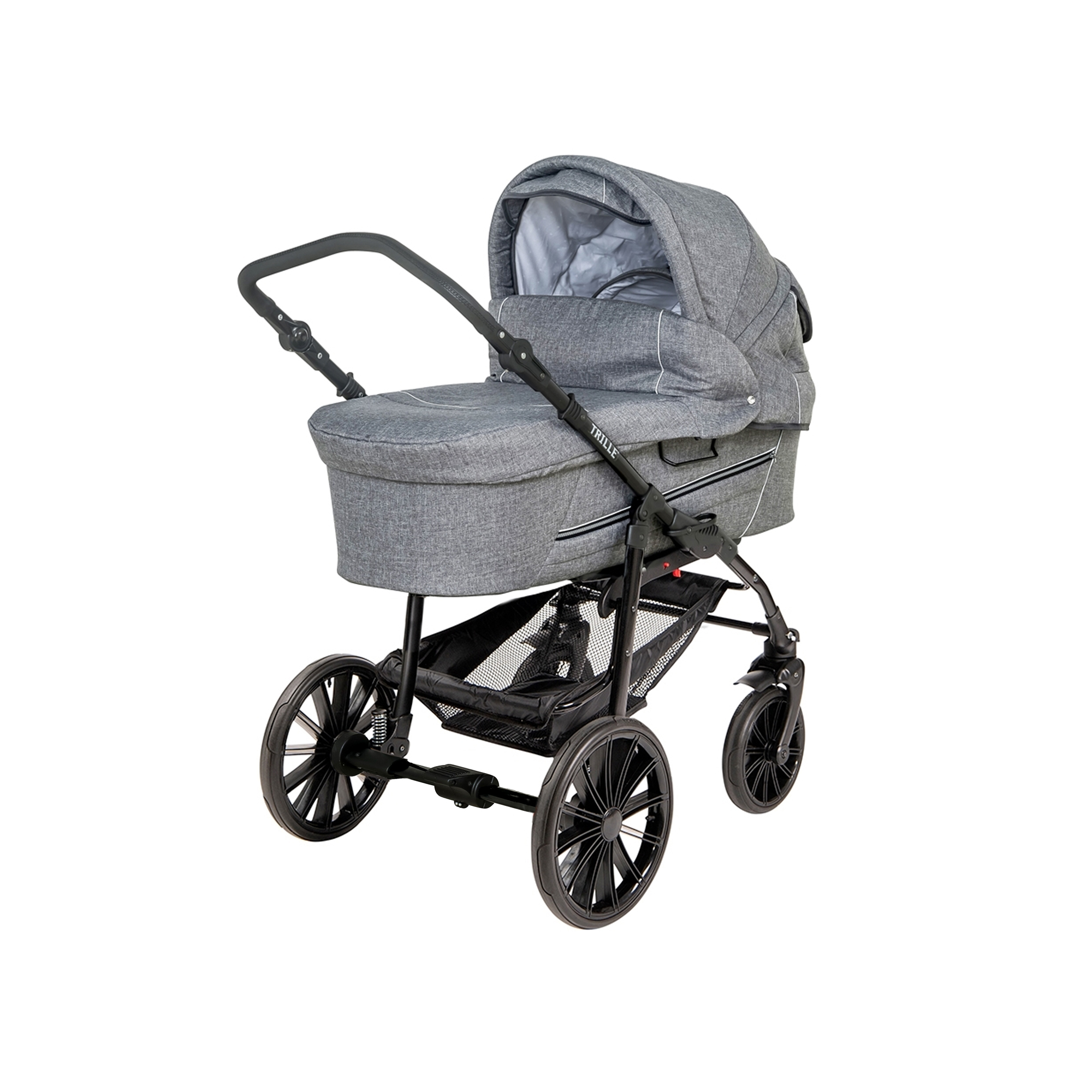 TRILLE - Dream Light Pram - Grey Melange