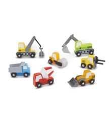 Melissa & Doug - Wooden Construction Site Vehicles (13180)
