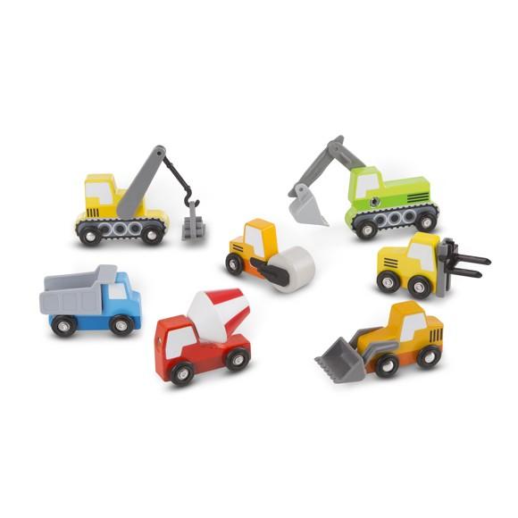 Melissa & Doug - Wooden Construction Site Vehicles (13180)