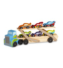 Melissa & Doug - Mega Race-Car Carrier (12759)