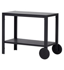 Living Outdoor - Laurits Serving Carts - Black (47991)