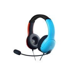 PDP Nintendo Switch Wired Headset LVL40 Blue/Red