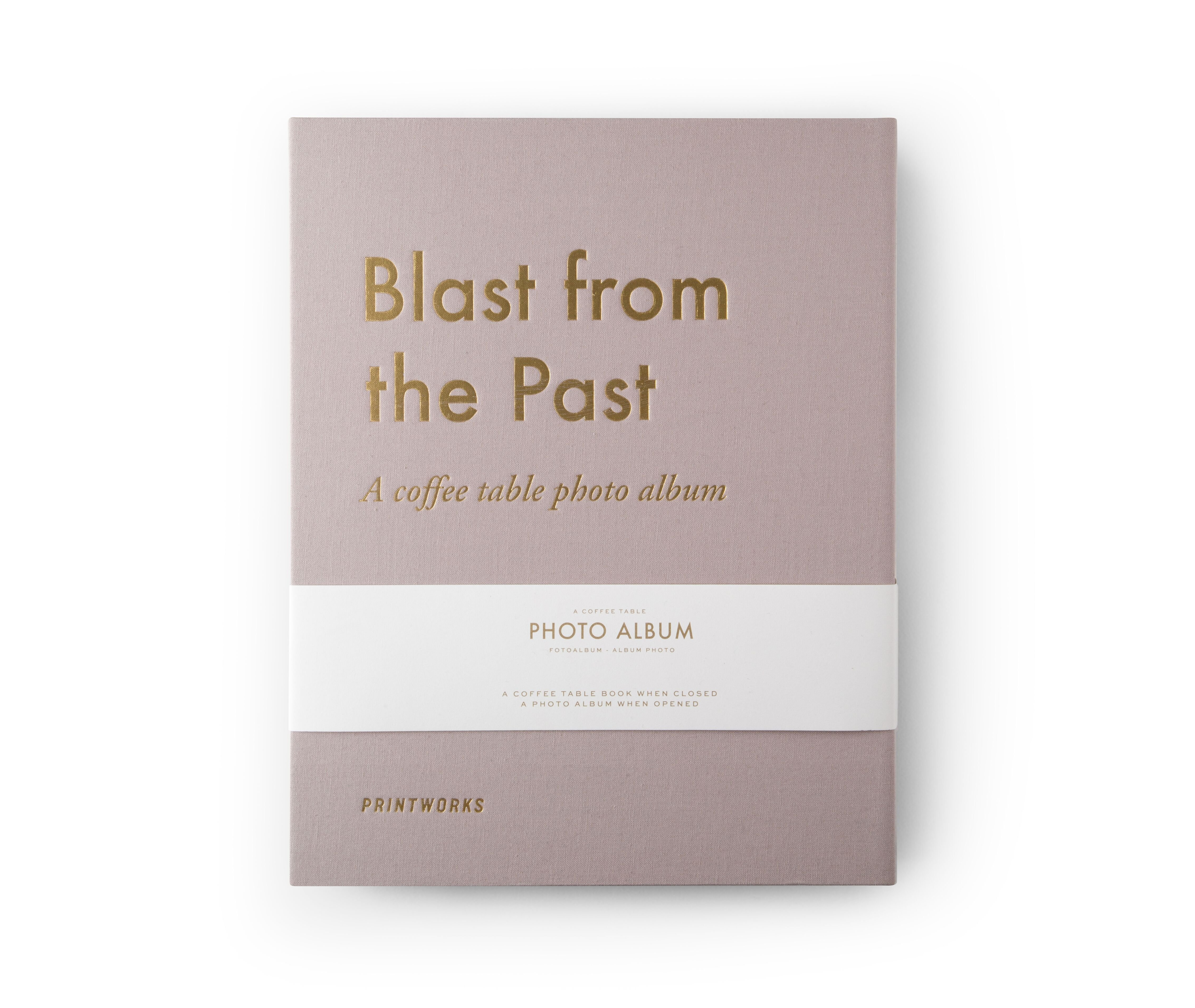 Photo Album - A Blast From The Past (PW00151)