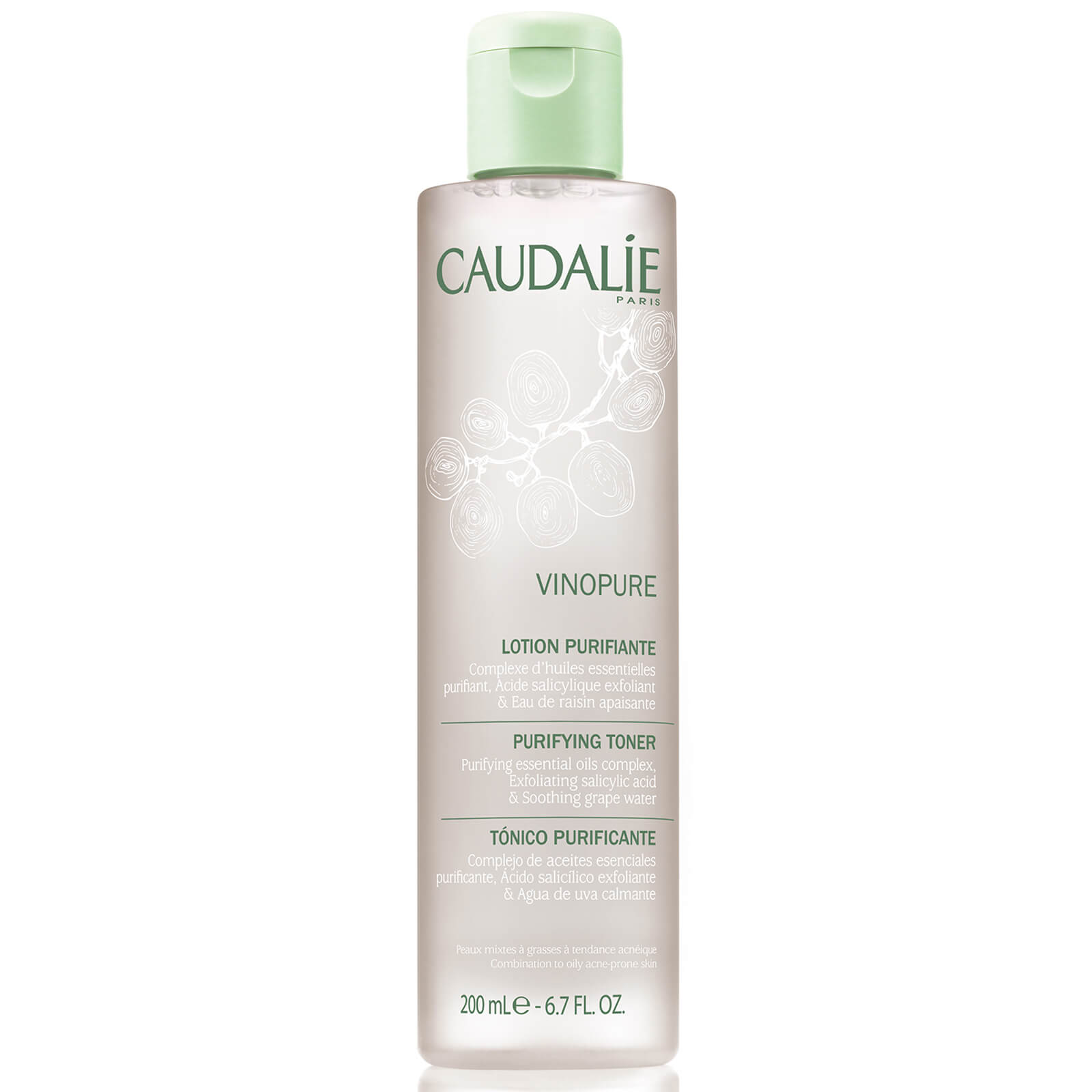 Caudalie - Vinopure Clear Skin Purifying Toner 200 ml
