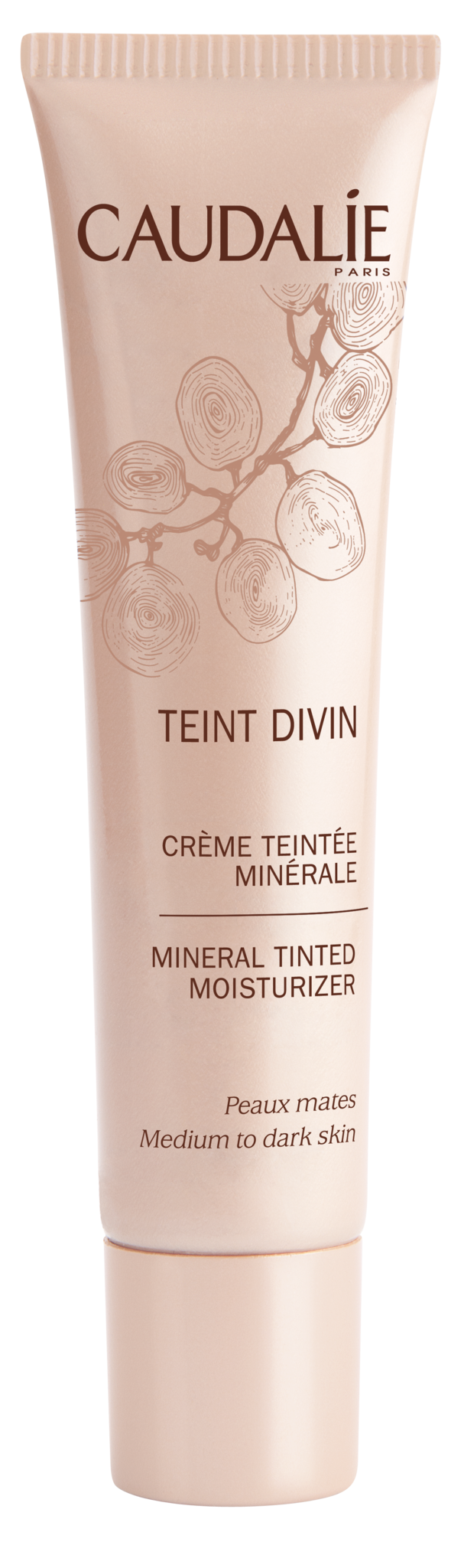 Caudalie - Teint Divin Mineral Tinted Moisturizer 30 ml - Medium/Dark