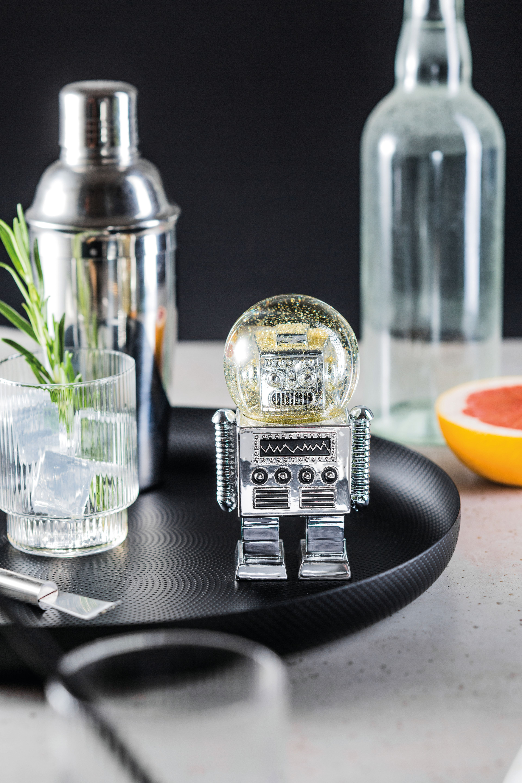 Snowglobe - Summerglobe (The Robot - Silver) (330454)
