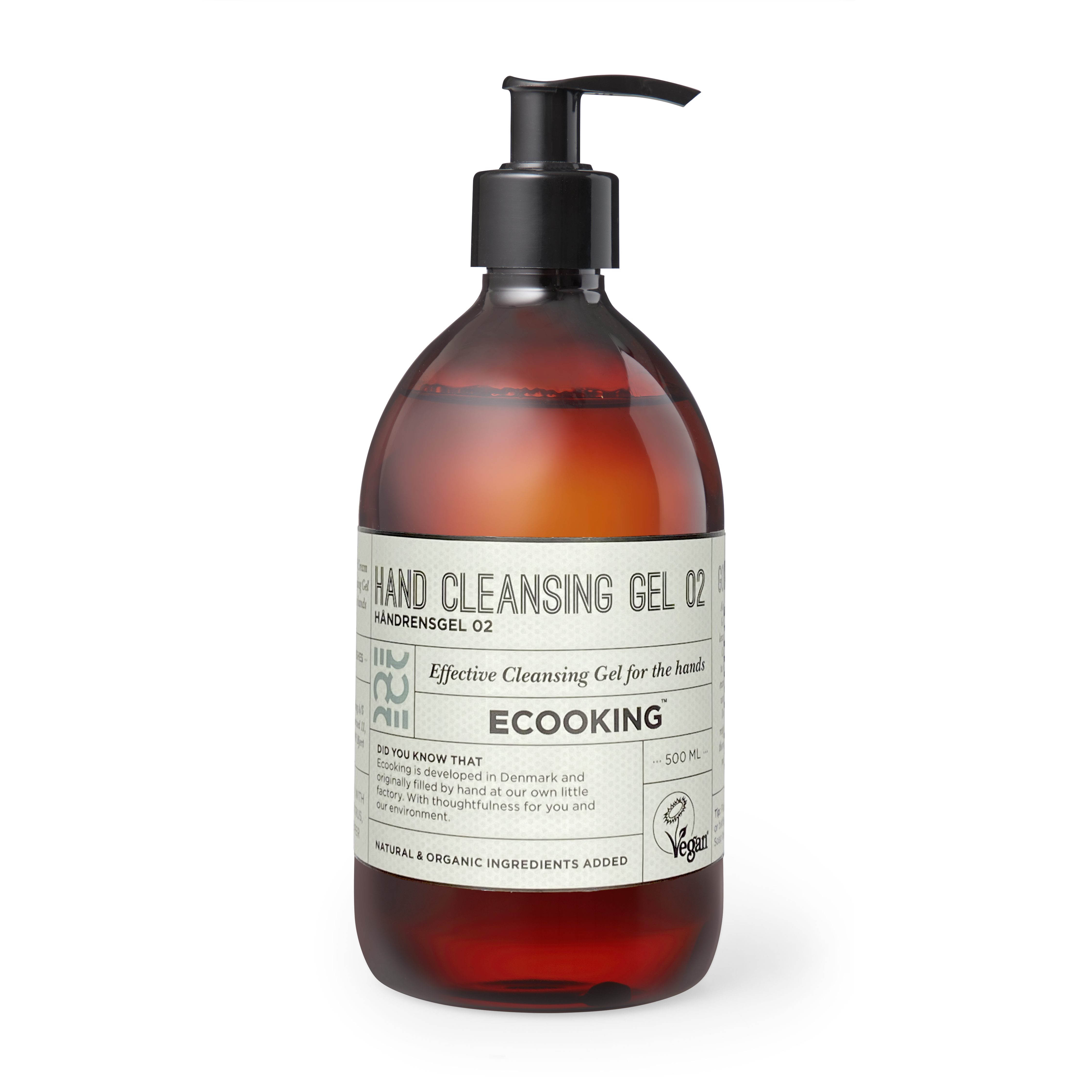 Ecooking - 60% Alkohol Handreinigungsgel 02 500 ml