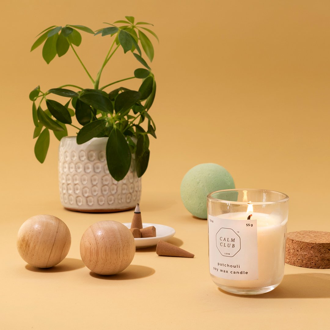 Calm Club - Relaxation Rituals - 5 Piece Relaxation Kit