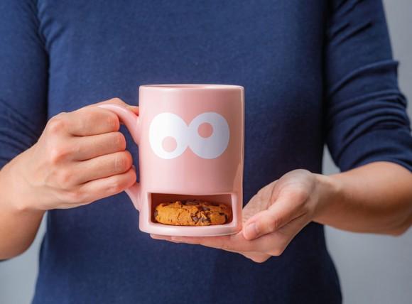 Cookie Mug - Monster (Pink) (210323)