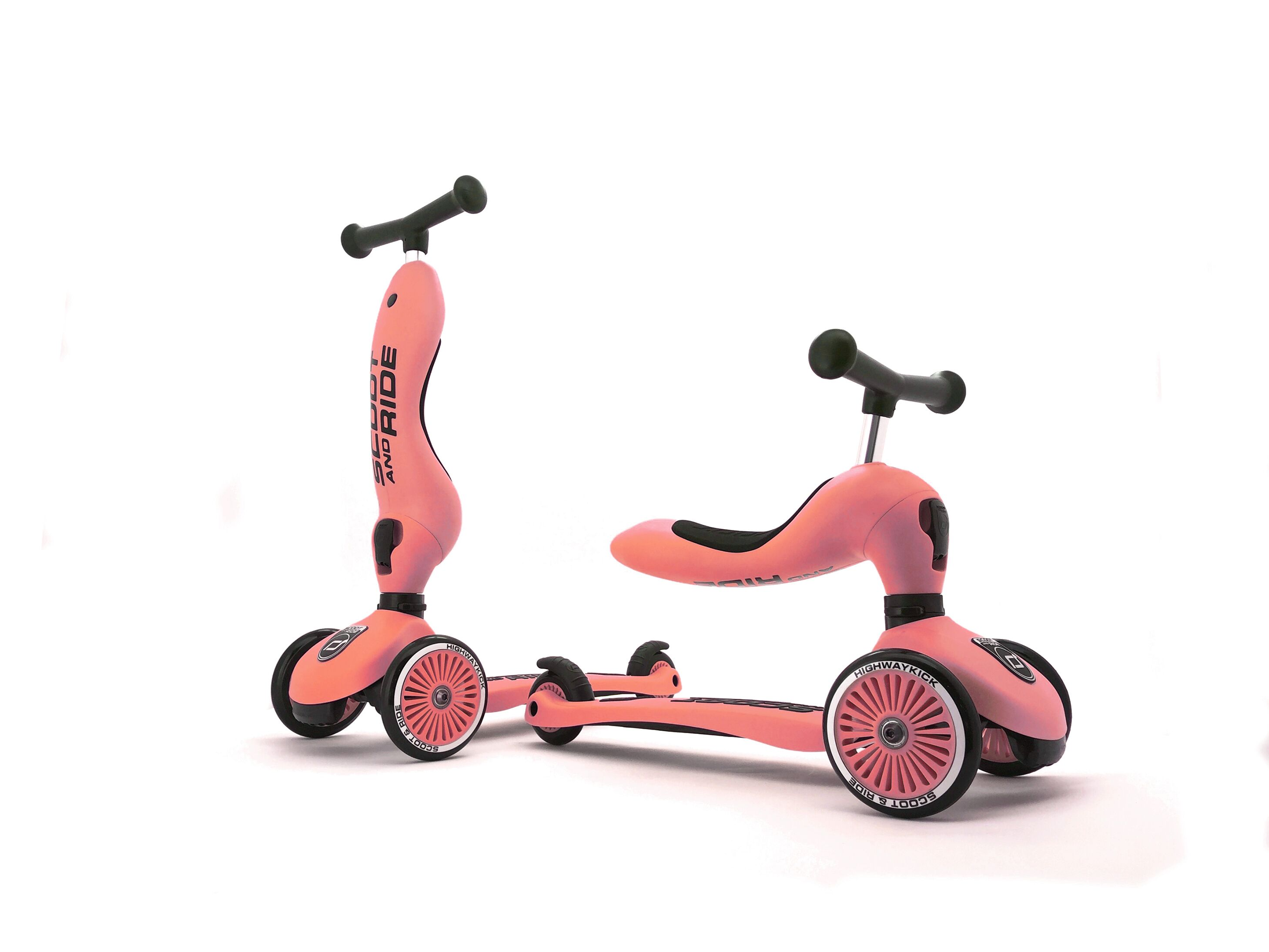 Scoot and Ride - 2 1 Peach | løbecykel og løbehjul
