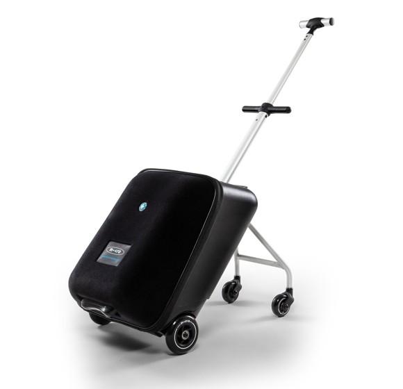 Micro - Luggage Eazy - Ride On Trolley - Sort