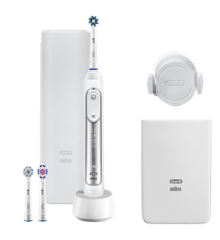 Oral-B - Genius 8200W Electric Toothbrush - Silver - E